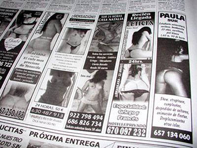 prostitutas numeros telefonicos anuncios clasificados sexo