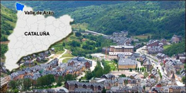 Si catalu a declara la independencia el valle de ar n - Inmobiliarias valle de aran ...