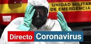Directos al caos: el coronavirus avanza y deja la curva de España como antes del 8M
