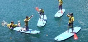 ¿Cuál es el deporte de moda este verano? Singlequiver, la revolución del paddle surf