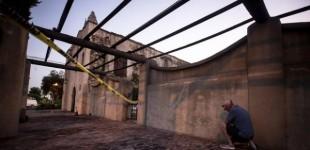 Incendian la histórica Iglesia fundada por fray Junípero Serra en 1771