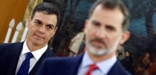 Jaque al Rey: Pedro Sánchez califica de 'inquietantes' y 'perturbadoras' las informaciones sobre Juan Carlos I