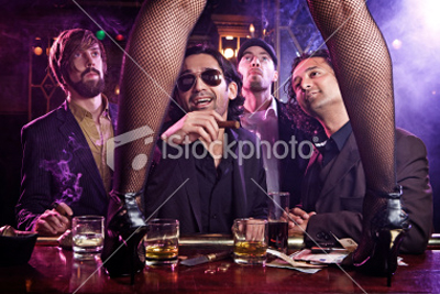 guys-looking-at-girl-dancing-striptease