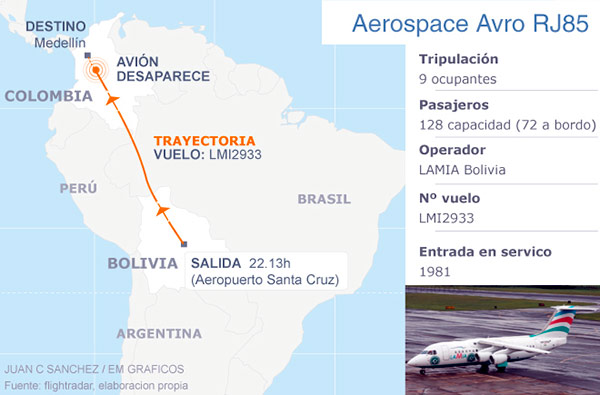 accidente-avion-mapa