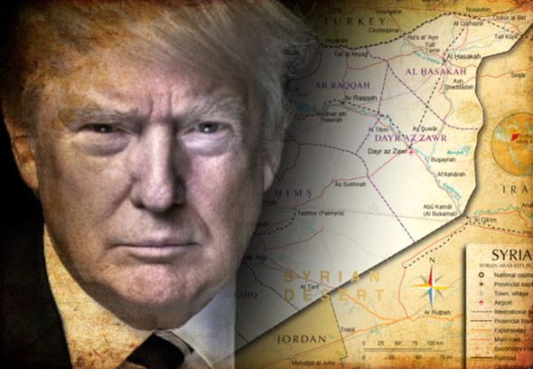 Resultado de imagem para Trump e a Siria