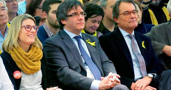 Resultat d'imatges de Els Artadi Puigdemont brusselas