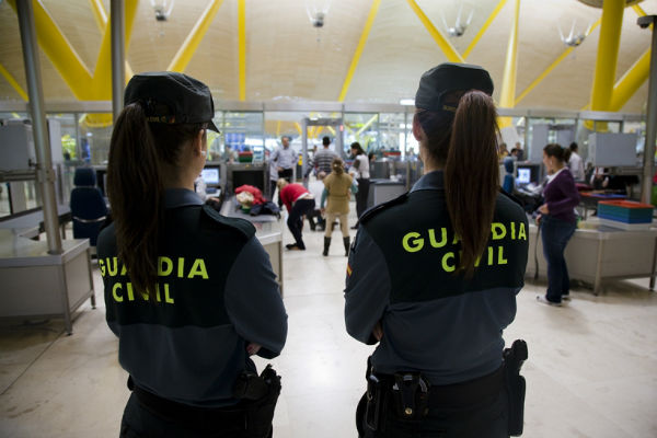 guardia civil mujeres