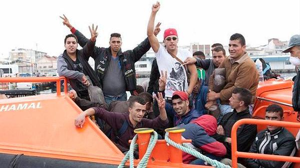 argelinos ilegales