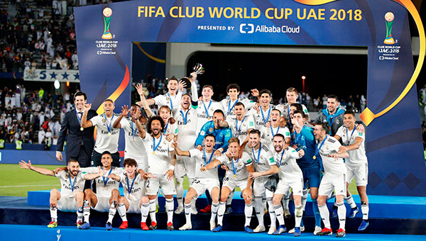 madrid campeon mundial