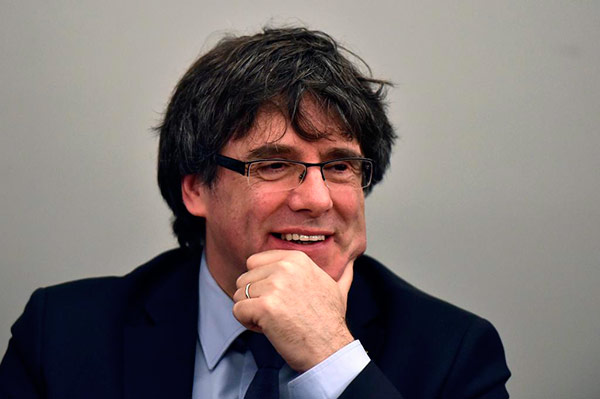 El Supremo rechaza la extradición de Puigdemont sólo por malversación