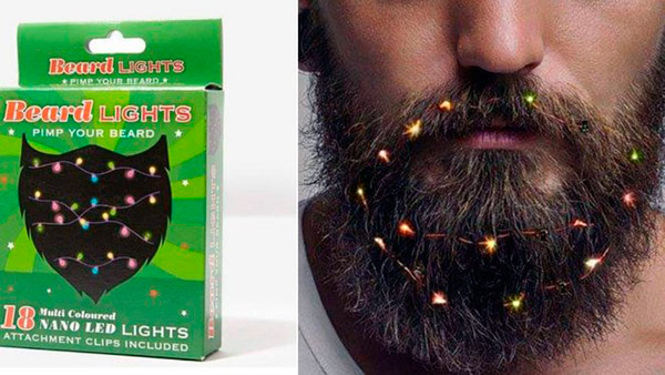barba luces navidad