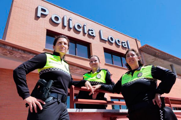 policia local mujeres