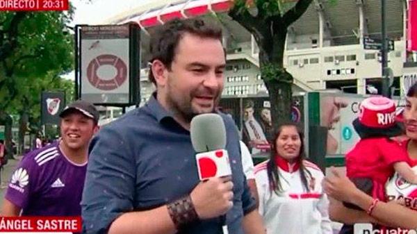Surrealista conexión en 'Noticias Cuatro' con un reportero ¿borracho?