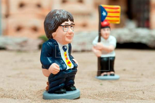 puigdemont caganer