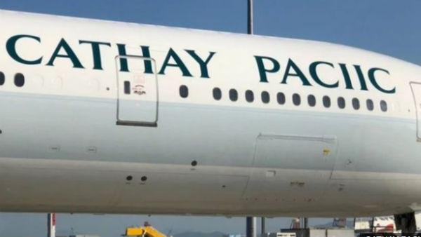 Desopilante: una aerolínea escribió mal su propio nombre en un avión