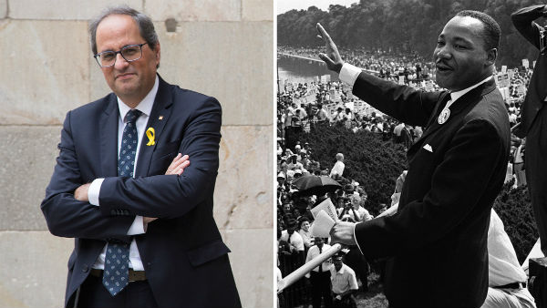 quim torra luther king