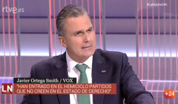 ortega smith vox tve