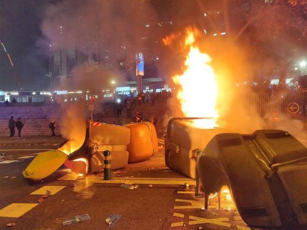 barricadas camp nou