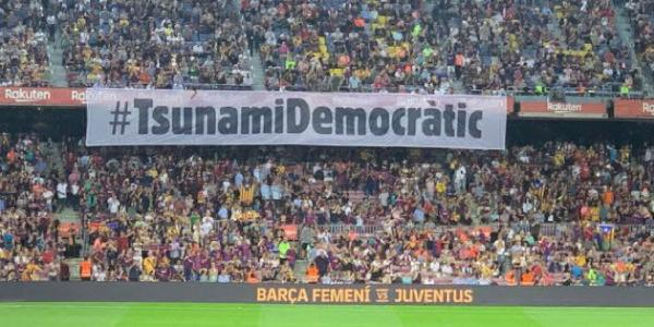 camp nou tsunami democratic