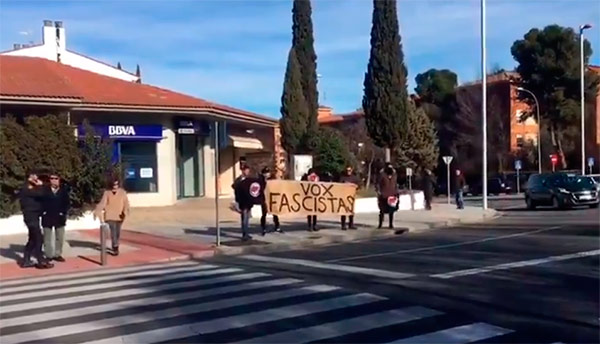 antifascistas vox toledo
