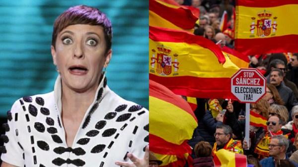 Eva Hache insulta a los manifestantes de Colón: