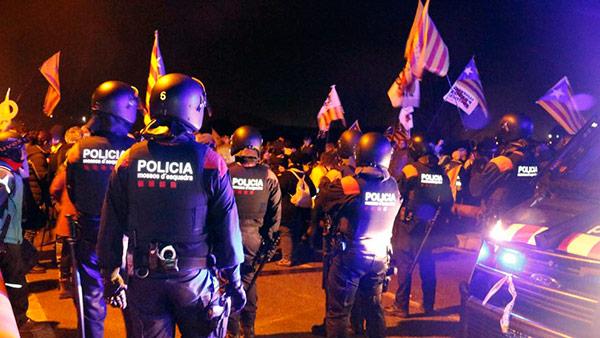 mossos independentistas presos