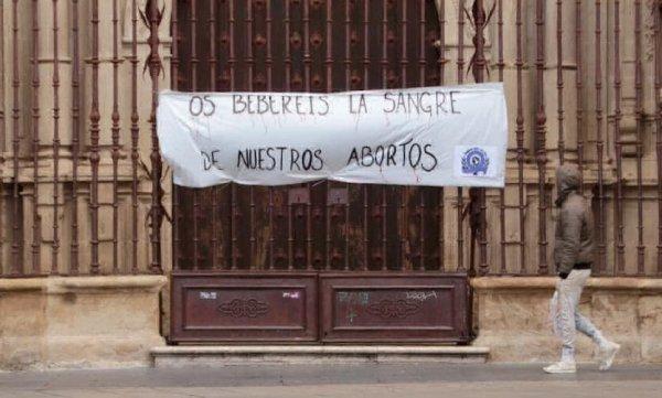 catedral logrono feministas