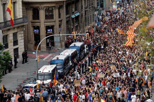 policia barcelona