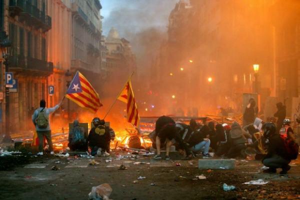 barcelona barricadas