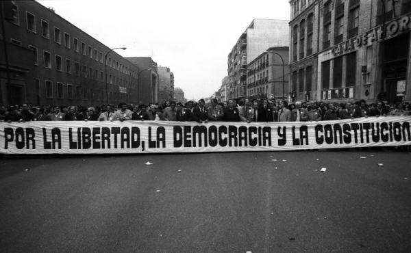 manifestacion democracia
