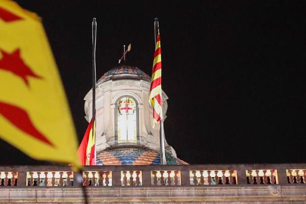 bandera espana generalitat