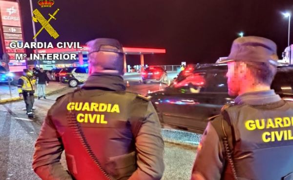 guardia civil cobre