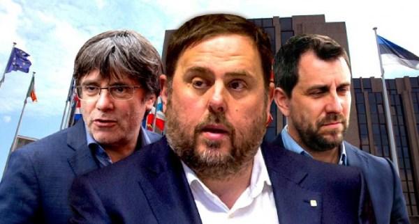 junqueras puigdemont comin eurodiputados