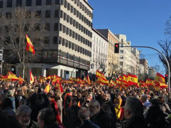 manifestacion unidad espana