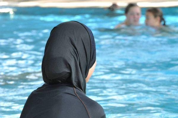musulmanas piscina