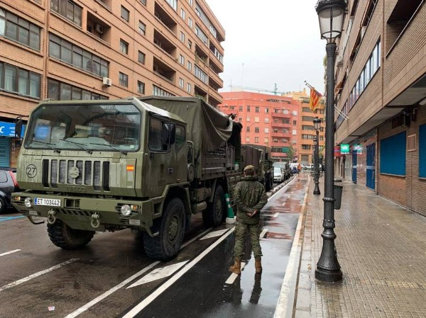 ejercito calles