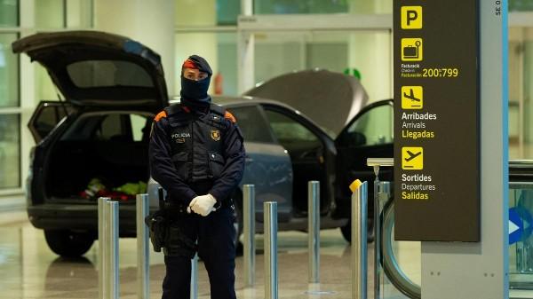 mossos aeropuerto