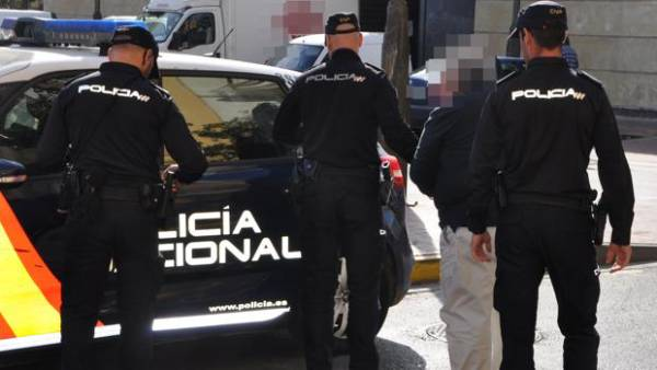 detenido policia nacional