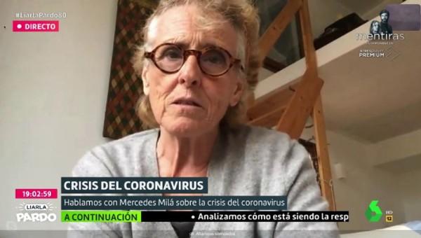 Mercedes Mila La Sexta, Mercedes Mila coronavirus, Mercedes Mila Covid 19, Mercedes Mila Isabel Díaz Ayuso, Mercedes Mila Pablo Casado