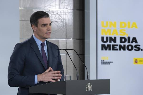 pedro sanchez virus
