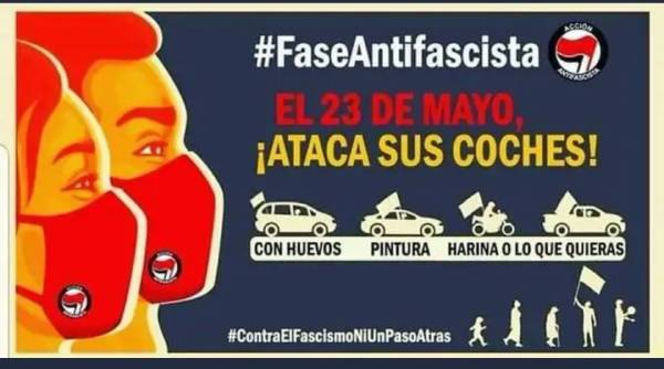 antifascistas vox