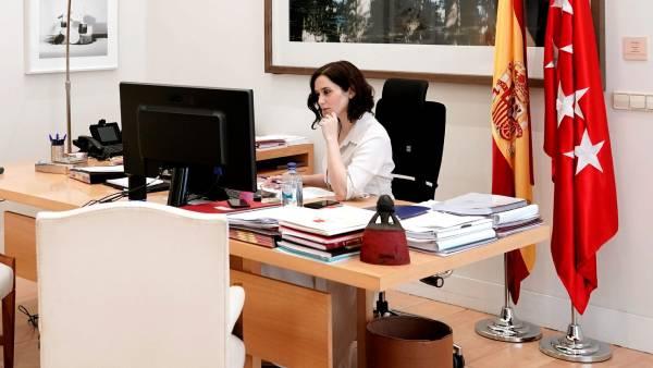 isabel diaz ayuso presidenta comunidad madrid
