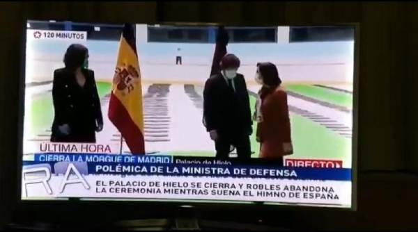 margarita robles himno espana