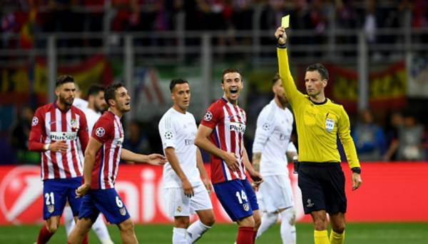 Mark Clattenburg Liga de Campeones, Mark Clattenburg Champions League, Mark Clattenburg Real Madrid Atlético