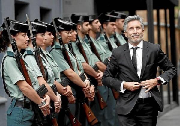 ministro guardia civil