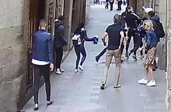 delincuentes barcelona