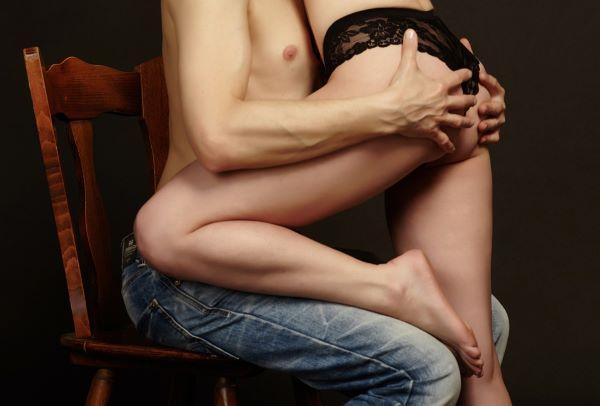 pareja sexo culo