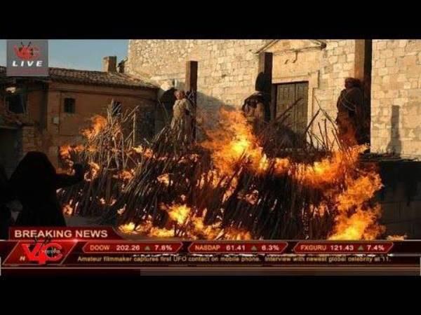 quemados vivos
