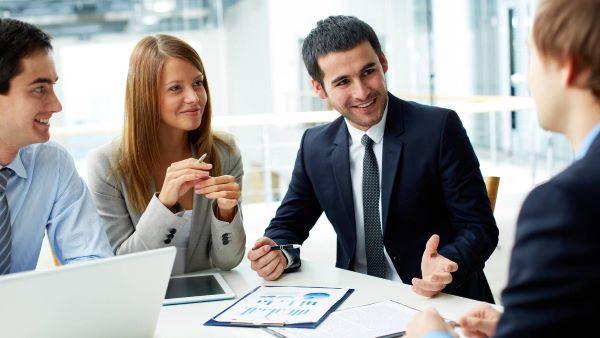 reunion negocios empleo