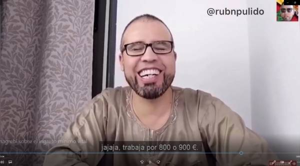 youtuber magrebi paguita, youtuber marroquí ingreso mínimo vital, youtuber magrebi ingreso mínimo vital, youtuber marroquí paguita